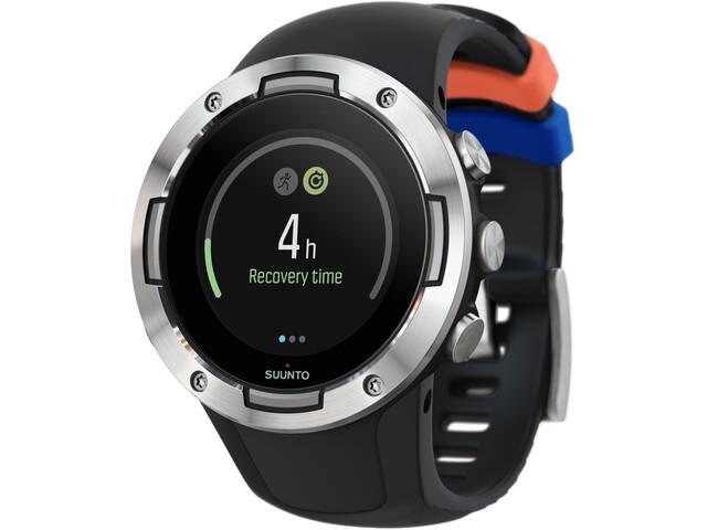 Suunto Suunto 5 Orologio GPS Multisport, black steel